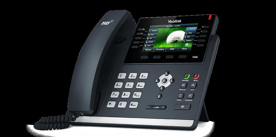 The Yealink T46S phone.